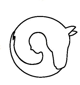 Hjørgunn_ikon svart